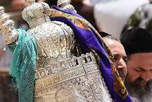 """Torah / Honoring the Torah with """"hiddur mitzvah,"""" doing commandments beautifully."""