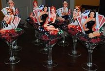Card Night...Vintage Bridal Showers Themes / Bridal shower with a playing card them / by Vintage Retro Rock