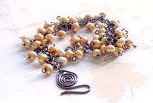 Bluetina Bracelets / Bracelets available in my on line shops.