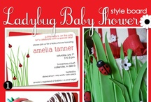 Ladybug Party Ideas (birthday or baby shower)