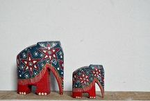 Heffalumps - I luv 'em / by Bluetina Jewellery