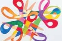 Kiddies Art / Art Education for kids / by Sara Graf