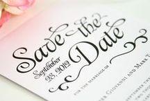 Stationery. / Invitations, Save The Dates, Programs, etc.