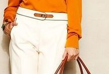 Fashion -  White & Beige Pants / Check out my other Fashion boards. / by Tambry G