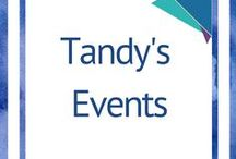 Tandy's events / Check out Tandy's events. Boot Camps, Training, Workshops, Tele-Seminars, Webinars, book launch details and speaking engagements.
