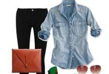 Fall & Winter. / Sweaters, Tights, Blazers, Boots, etc.