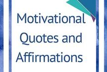 Motivational Quotes and Affirmations / All things positive. Everything to lift you up, help you take inspired action to be who you know you are! Affirmations to help in all areas.