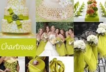 Chartreuse Wedding  / by The American Wedding
