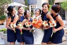 Navy & Orange Wedding / by The American Wedding