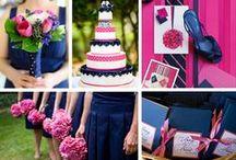 Navy & Fuchsia Wedding / by The American Wedding