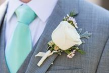 Mint & Grey Wedding / by The American Wedding