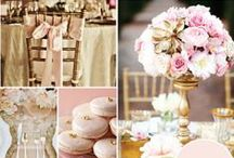 Blush Pink & Gold Wedding / by The American Wedding