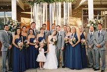 Navy & Grey Wedding / by The American Wedding