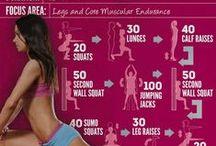 Vie sportive : workouts.