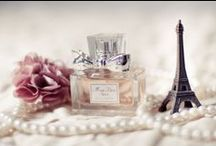 Ooh la la Paris / ooh la la and OUI OUI! Our Parisian mood board will have you packing your bags and taking your Passport picture in NO TIME! For the Parisian girls, check out our Glamour Chic fragrance!  www.amyscountrycandles.com