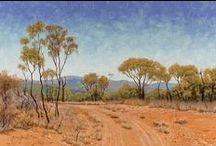 Australian Landscape Oil Paintings / Original Australian Landscape Paintings in Oils by Michael Hodgkins