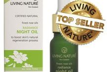 Living Nature natural skincare Top Sellers / Tried and true skincare favourites that consistently rank as our best sellers worldwide. www.livingnature.com