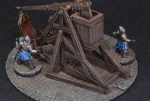 Modélisme médiéval-fantastique / Décors et figurines médiévaux-fantastiques destinés aux wargames et aux jeux de rôle sur table