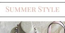 Summer Style / IShinebyDesign.net I teach women to shop their own closet. Using core pieces to create a simple 1-2-3 recipe to dress easily and with style, giving them back time. Women's fashion, trends, 2017, simplify, teens, more time, no stress, better than stitch fix, personal stylist, promJewelry for every woman, every style, every age and budget! Premier Designs Jewelry for every season.