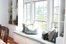HOME-WINDOW SEATS / by Joanne Erickson