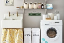 laundry / a laundry room doesn't have to be ugly / by whitney