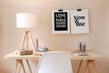 work area / by Celia Goddard