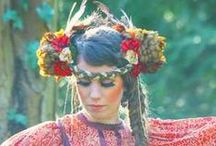 Bohemian / Ecological Conscious, Dreamer, Nature-loving, Indian, 60s, Hippie, Gypsy / by WGRTJ