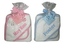 Creative Ideas for personalized baby gifts/ / Best baby gifts start with adding a name to an essential product for baby at www.namelynewborns.com