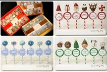 """Holiday cake pops by SUSYPOPS / """"Pop"""" art you can eat!"""