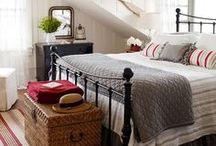 Bedroom - cottage / by Celia Goddard