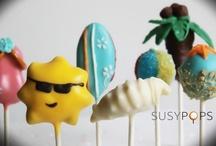 Summer cake pops by SusyPops / Summer inspired cake pops