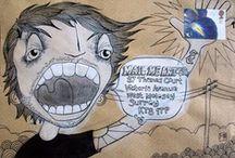 Doodles on Envelopes