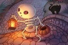 Spooky Halloween Doodles