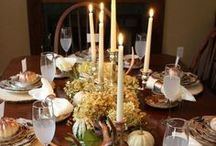 Thanksgiving Decor & Recipes / Find all your Thanksgiving ideas here: easy recipes for traditional foods, inspiring DIY holiday decor, tips and tricks to make the holiday memorable, and more.