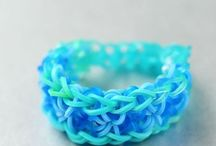Rainbow loom / Because why not, it's cute