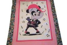Custom Baby Quilts / Gorgeous custom #baby quilts from cotton fabrics are made in the U.S. with personalization available at www.namelynewborns.com