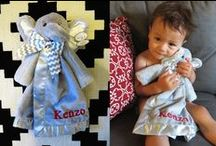 Personalized Security Blankets / Personalized security blankets are essential for every baby. At www.namelynewborns.com we know what babies need - Warm loveable animal friends to soothe and comfort him.