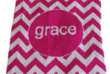 Chevron Baby Gifts / Chevron is the coolest design for kids this year. We love chevron on our blankets, towels and bibs at www.namelynewborns.com where we personalized all blanket with up to two names FREE.