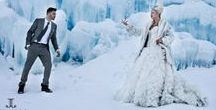 """STYLED SHOOT - """"Narnia"""" by Jewels* / Photos from a wedding styled shoot inspired by Narnia in the Colorado Rocky Mountains - winter - ice castles - breckenridge - white queen"""