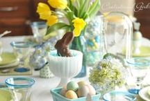 Spring / Spring decor and Easter Holiday