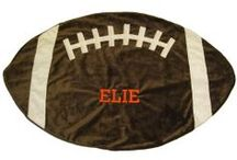 All Sports Blankets for Kids / It's baseball season so its time to give your little one a personalized baby blanket or towel with baseballs. If you love football or soccer, why not buy a personalized baby football or soccer blanket for your favorite baby. At www.namelynewborns.com we embroider and ship the most beautiful sports blankets for your baby girl or boy and even toddler blankets for big brother and sister.