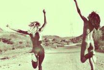 I N S P I R A T I O N / Boho bohemian hippy gypsy