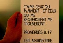 #laBible Proverbes / Proverbes tirés de la Bible