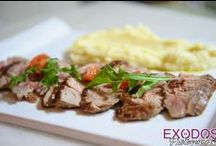 FOOD by Elia restaurant. / Some of our plates, you have taste, the 9 years we are servng you!