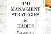 Planners/Time Management / Lovely planners, daytimers, and calendars, plus great tips for goal setting (and keeping!) and help with time management.