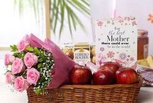 Online Mother's Day Gift Ideas / Healthy gifts for your health freak mothers! Send her fresh fruits and some personalized gifts on the occasion of Mother's Day.