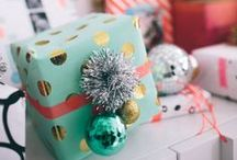 Wrap gifts / by Linda @ Calling it Home