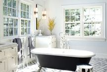 Master bath / by Linda @ Calling it Home