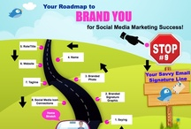 #PersonalBranding & #SocialMedia #Infographic On the Road to Brand YOU for Social Media Marketing Success Series  / #PersonalBranding #infographic to help your brand stand out using #SocialMedia. 10 Stop Series On the Road to Brand YOU for Social Media Marketing Success