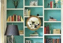 bookshelves / by Linda @ Calling it Home